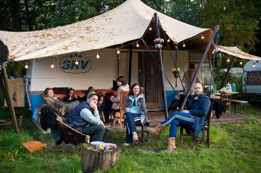 groepskamperen - kampeerterrein de lievelinge
